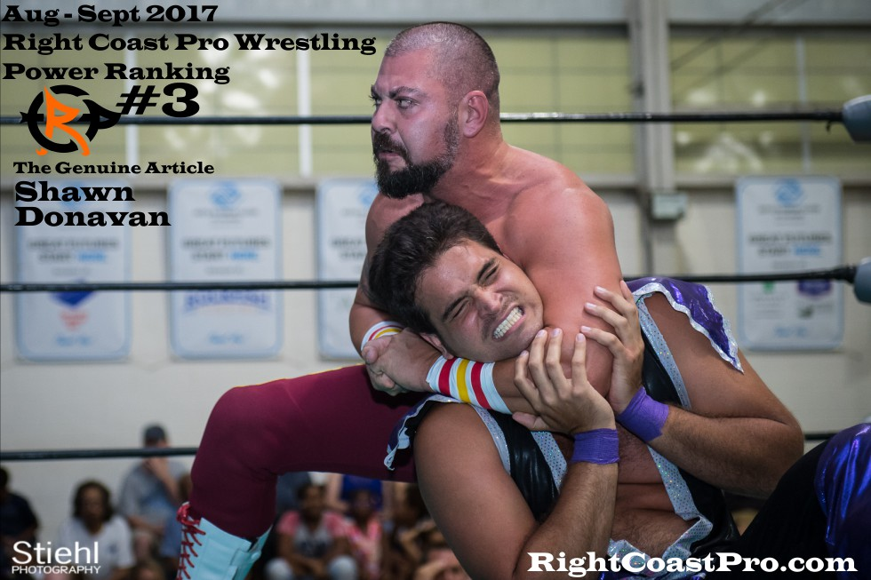 3 ShawnDonavan September Delaware Professional Wrestling Rankings