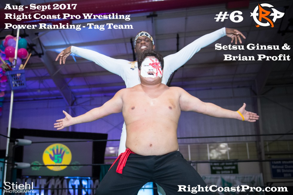 6 BlacChynaSeptember Delaware Professional Wrestling TagTeam Rankings
