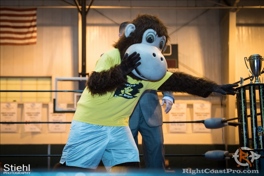 Mascot Coastee 2 RightCoast Pro Wrestling Delaware Event