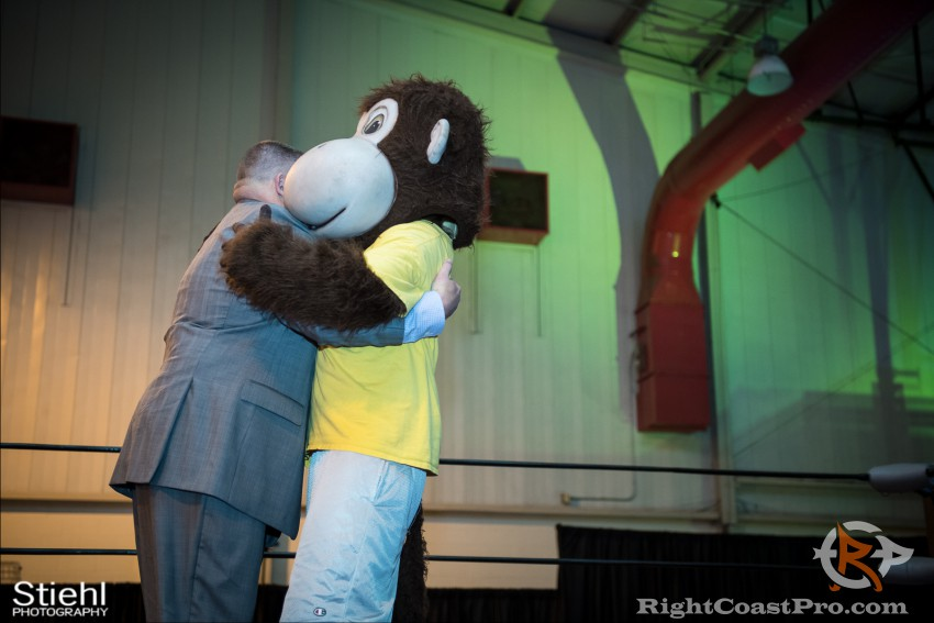 Mascot Coastee 3 RightCoast Pro Wrestling Delaware Event