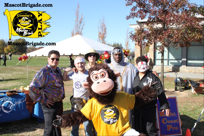 Group RightCoastPro Mascot Brigade Coastee Fall SpecialOlympics