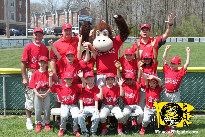 Baseball Team MascotBrigade Coastee