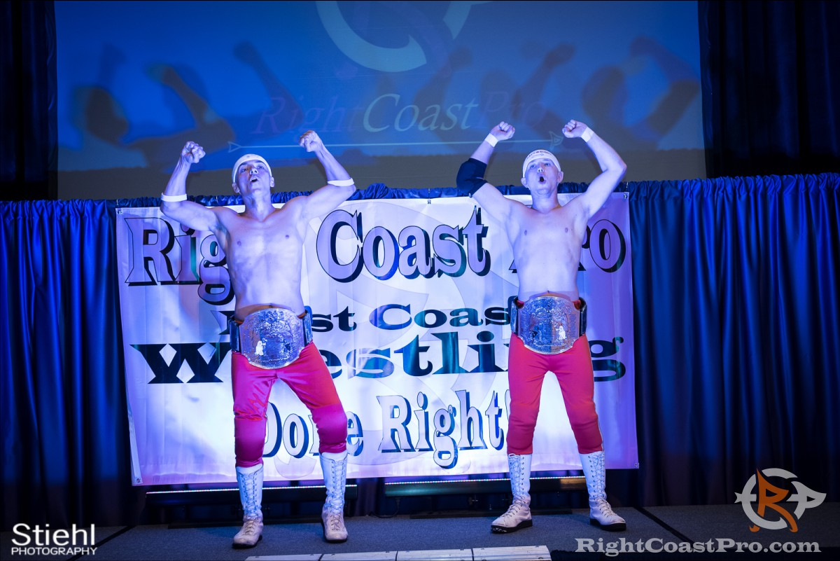 heavyweights stage RCP31 RightCoast Pro Wrestling Delaware Event