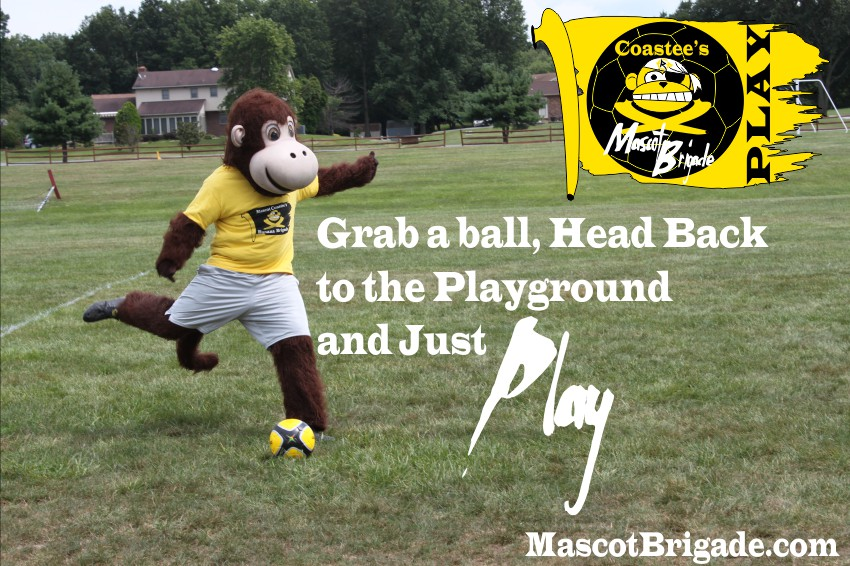 JustPlay MascotBrigade Coastee Playground Sports Delaware