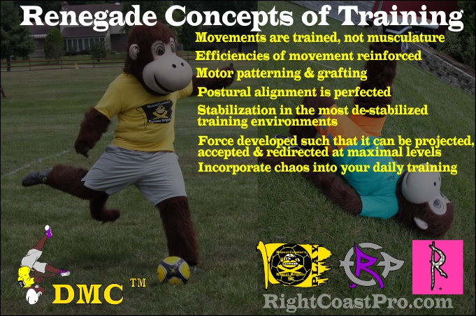 MascotBrigade Coastee Renegade Concepts Training