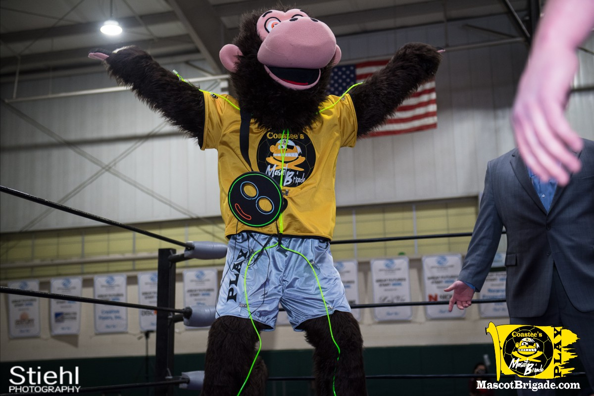 Mascot Coastee 4 RCP34 RightCoast Pro Wrestling Delaware Event