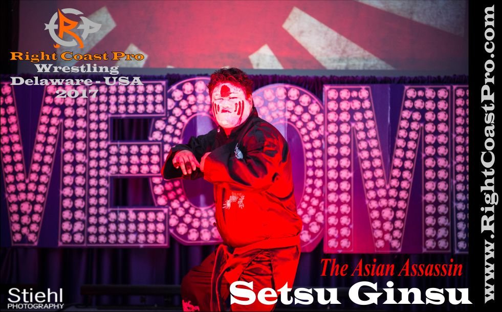 Asian Assassin 2017 Roster RightCoastPro Wrestling Delaware