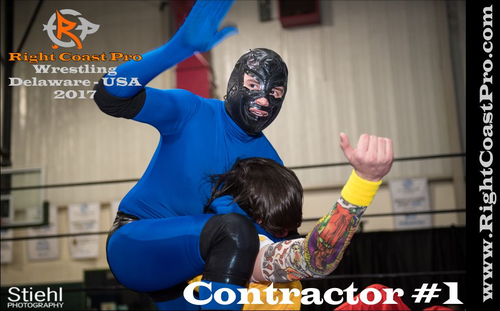 Contractor 1 2017 rightcoast pro wrestling Delaware roster