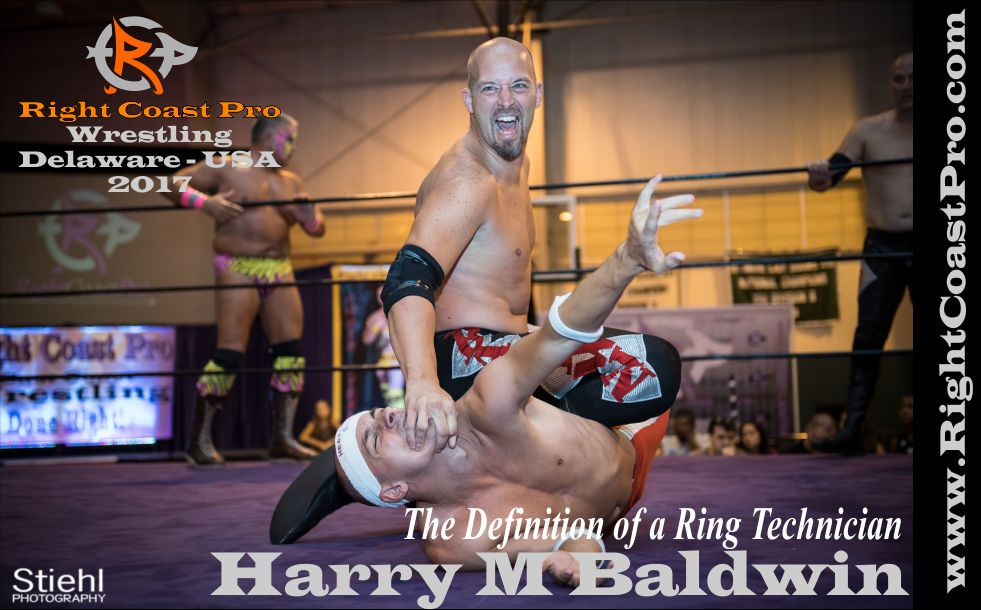 Harry Baldwin 2017 rightcoast pro wrestling roster