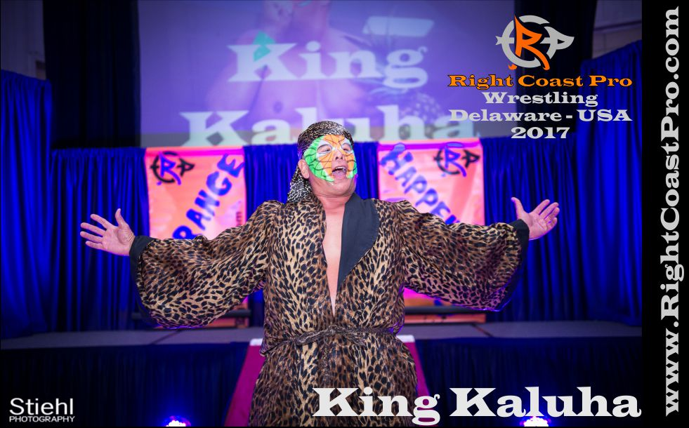 king kaluha 2017 rightcoast pro wrestling Delaware roster