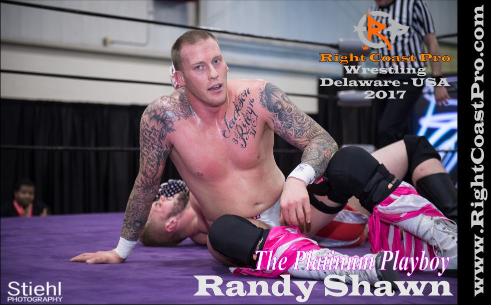 randy shawn 2017 rightcoast pro wrestling Delaware roster