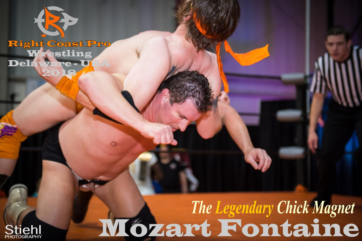 Fontaine 2018 Roster RightCoastPro Wrestling Delaware