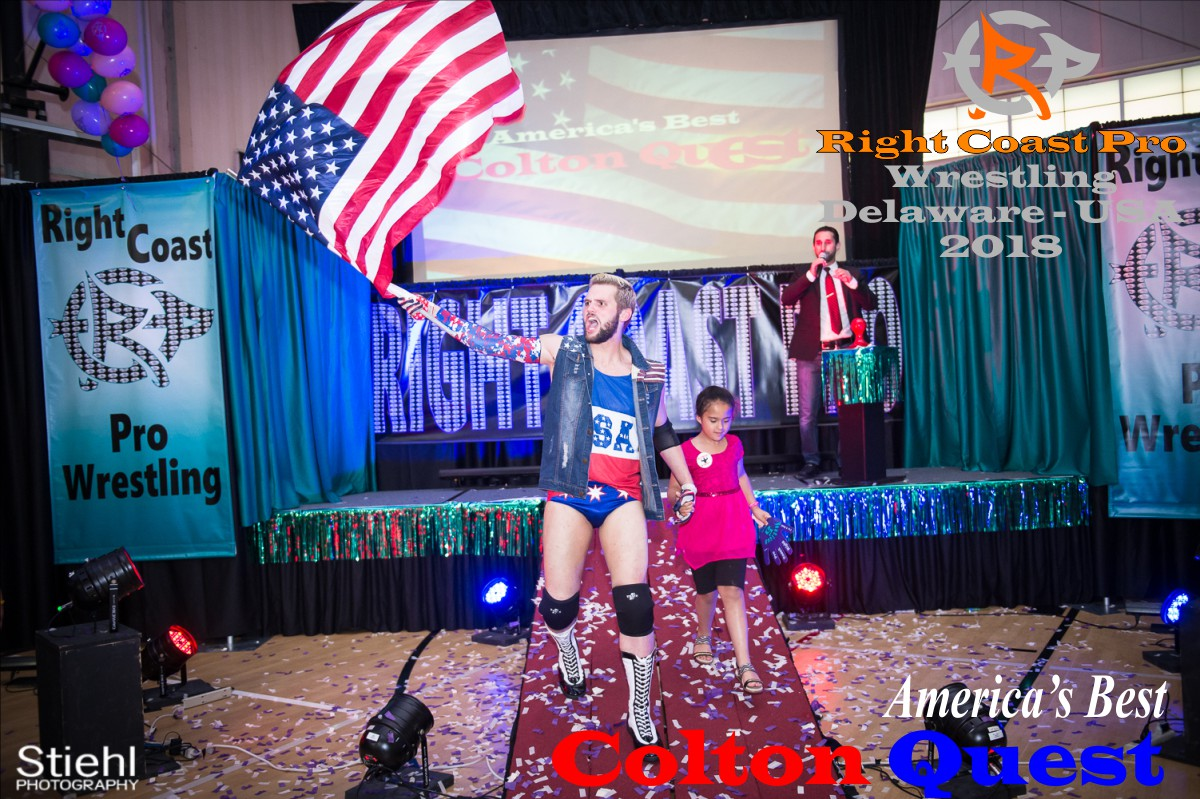 Quest 2018 Roster RightCoastPro Wrestling Delaware