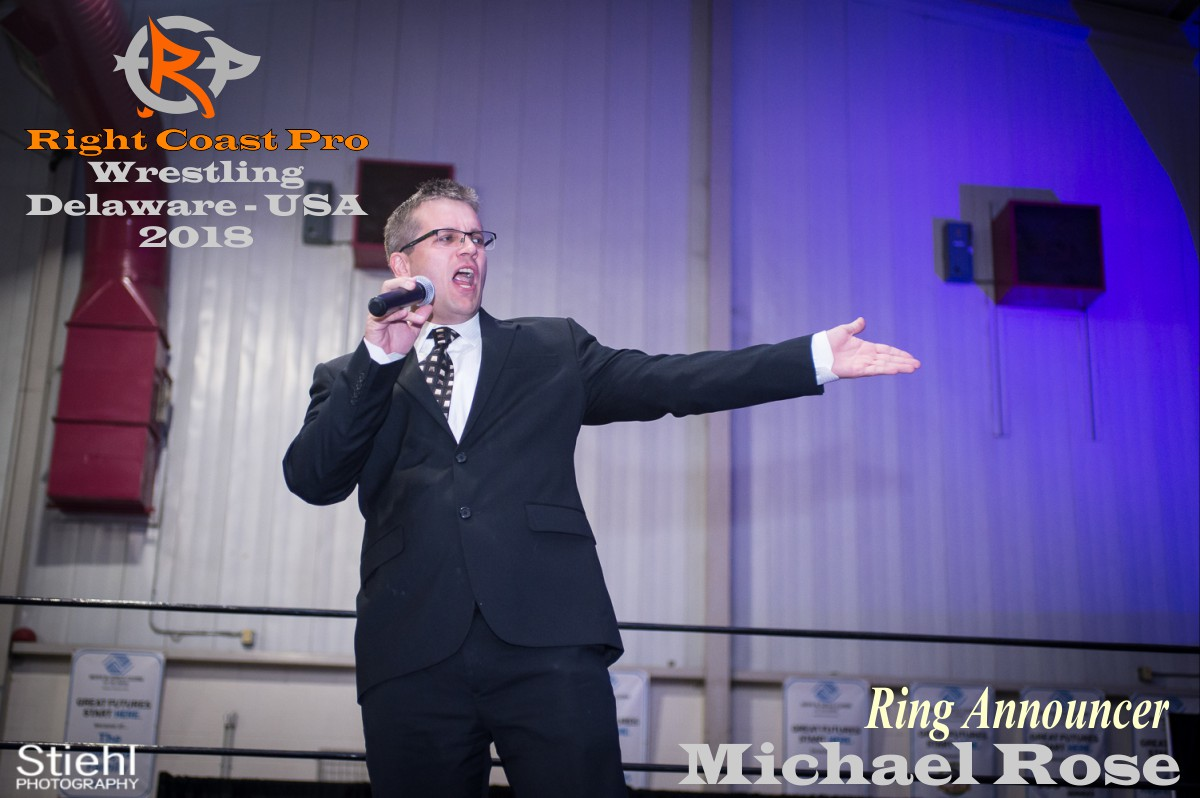 Rose 2018 Roster RightCoastPro Wrestling Delaware