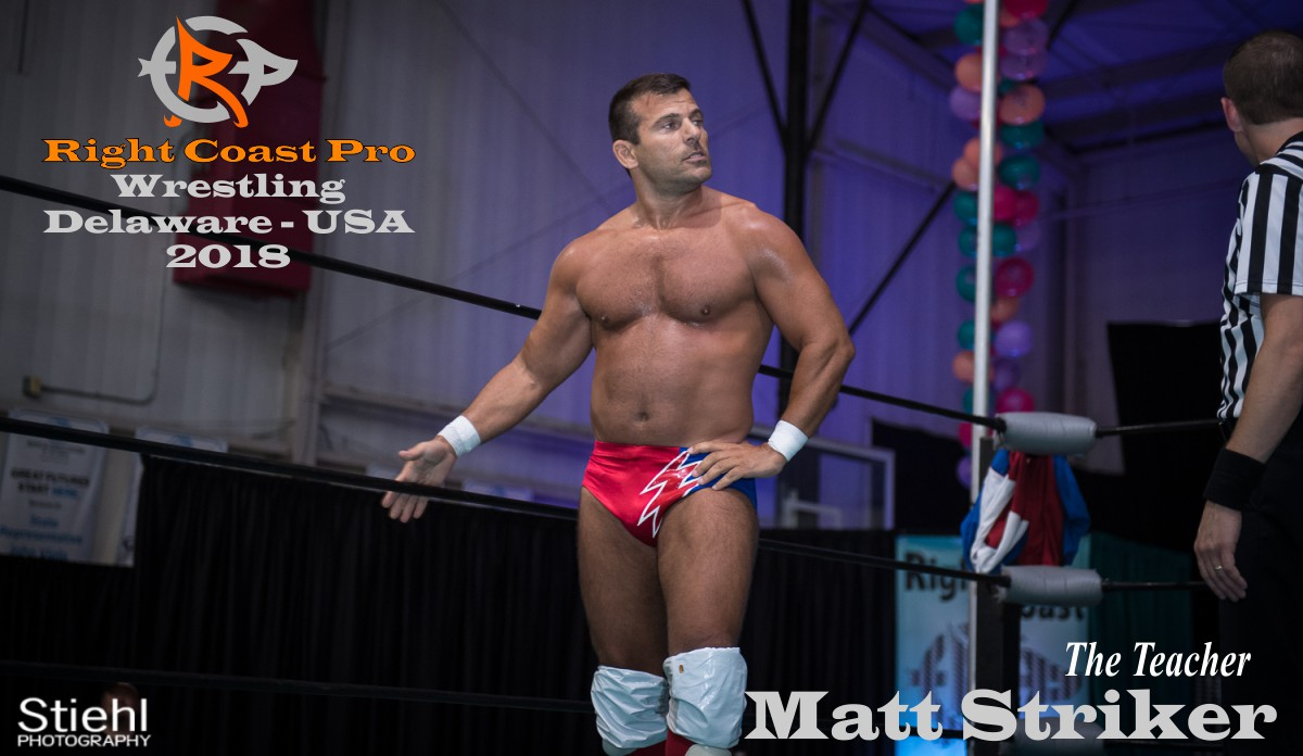 Striker 2018 Roster RightCoastPro Wrestling Delaware