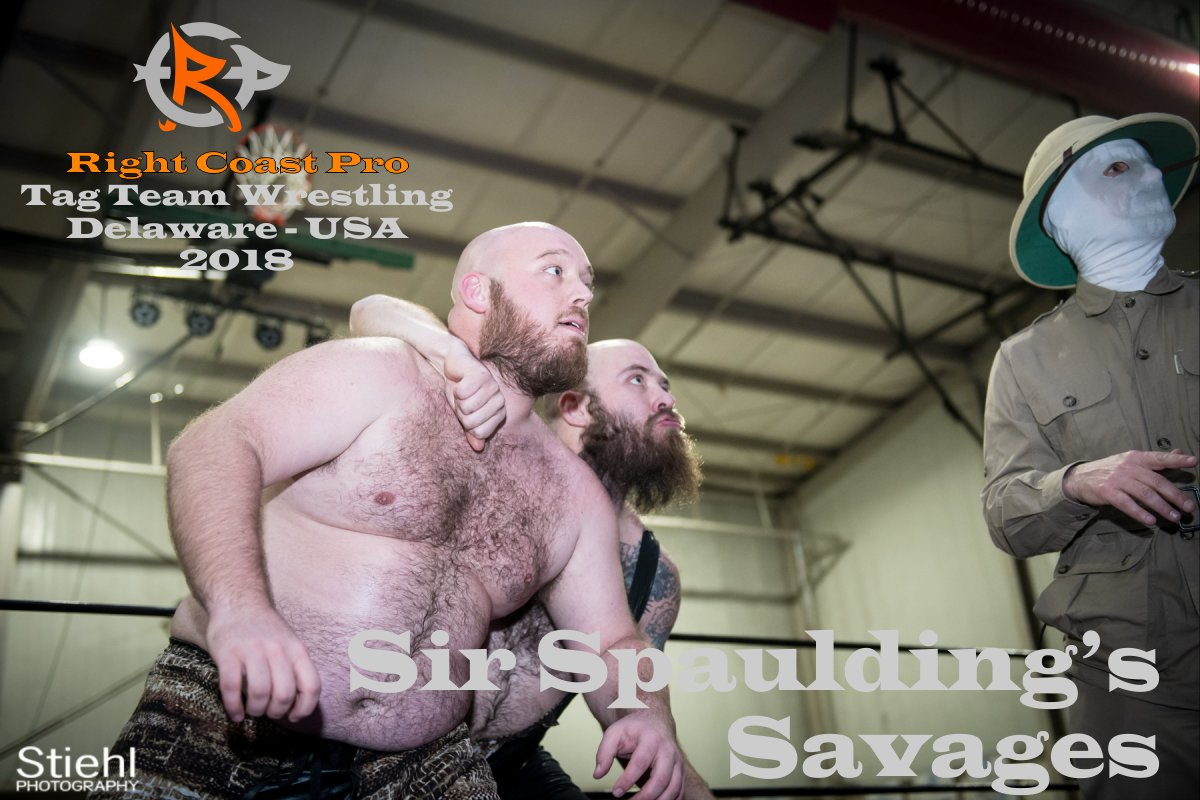 Savages tagteam 2018 Roster RightCoastPro Wrestling Delaware