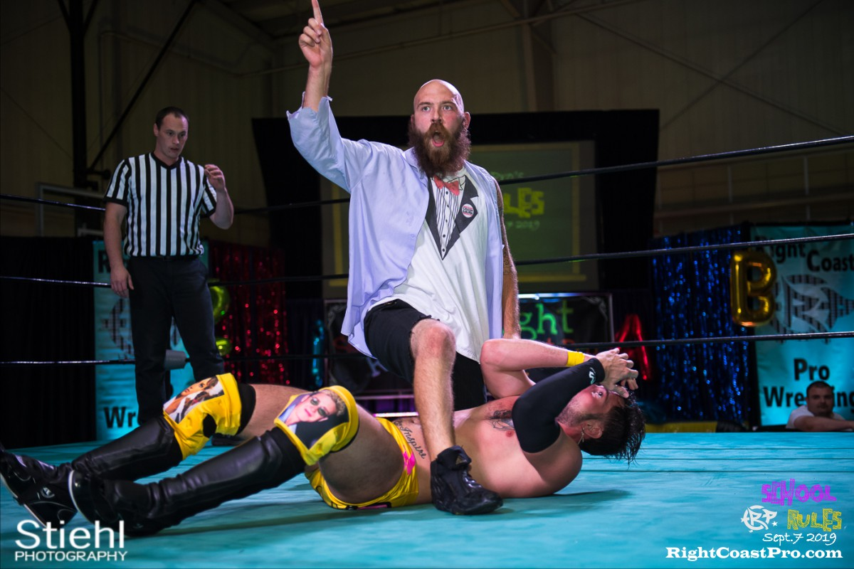 RCP55 30 steeler royal hof RightCoastProWrestlingDelaware