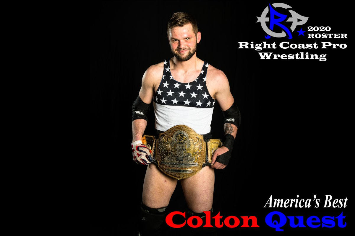 ColtonQuest2 2019 Roster RightCoastPro Wrestling Delaware