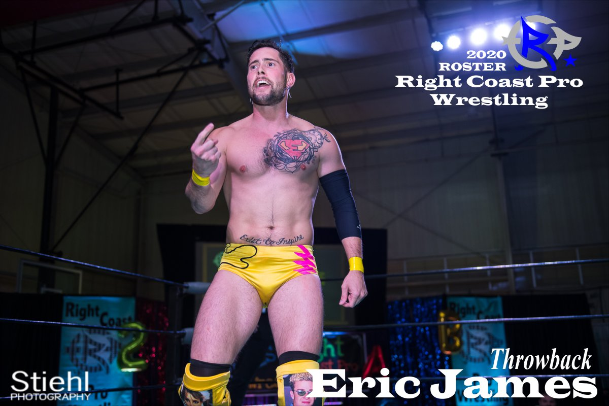 2019 Throwback James Roster RightCoastPro Wrestling Delaware