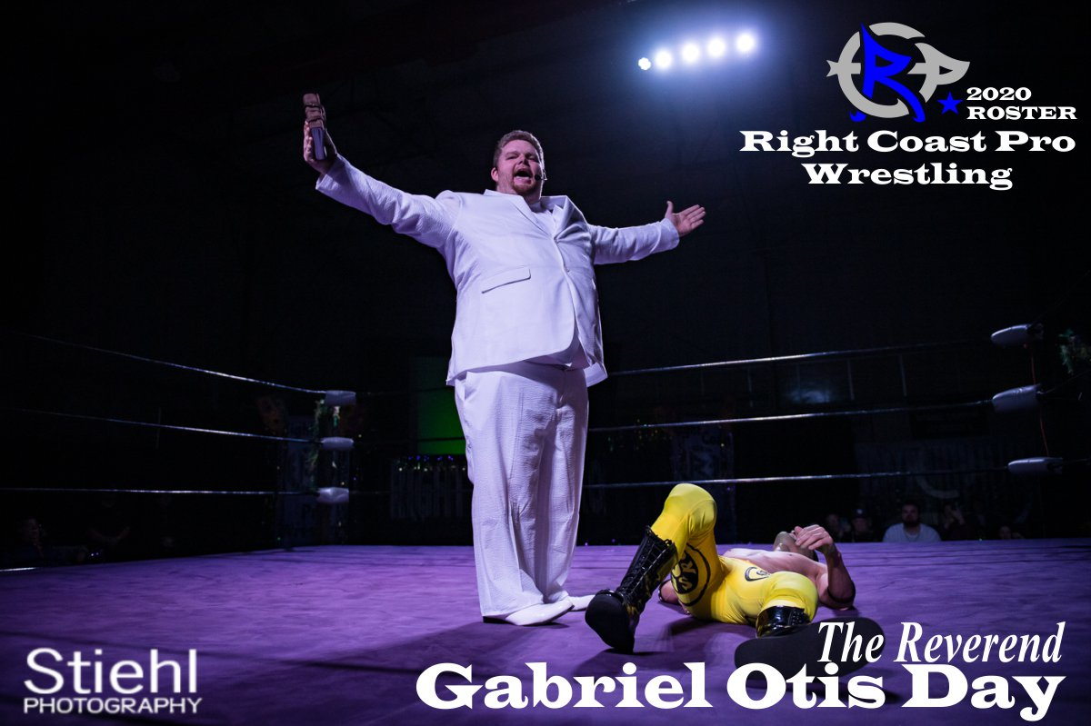 Reverend Day 2019 Roster RightCoastPro Wrestling Delaware