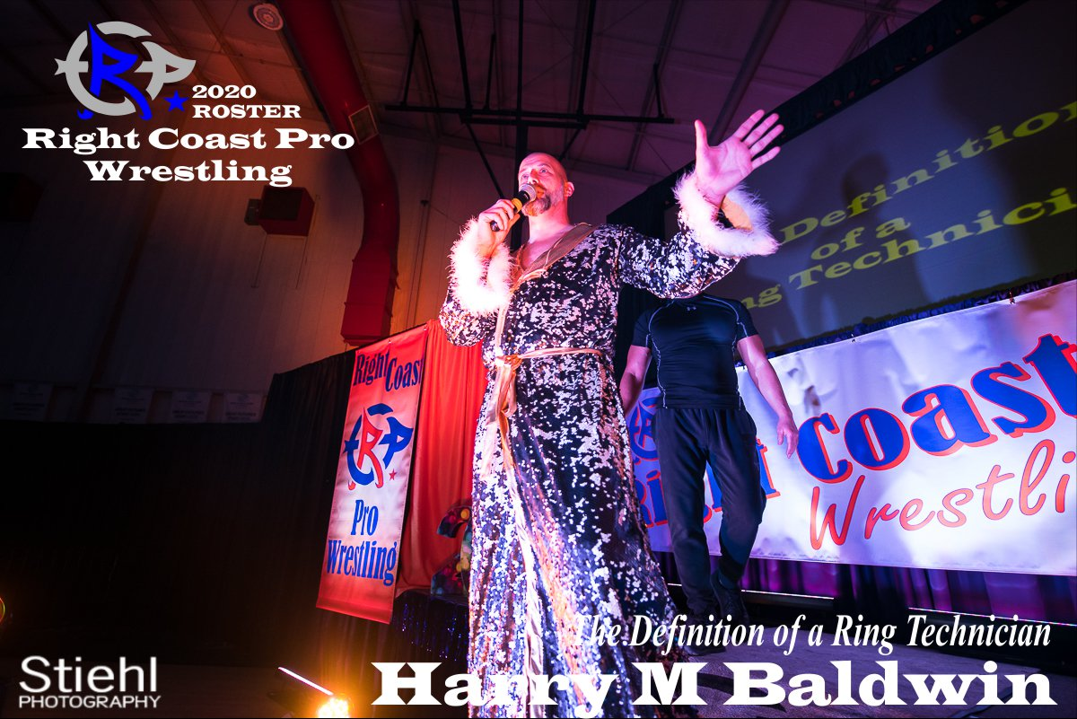 HarryBaldwin 2019 Roster RightCoastPro Wrestling Delaware