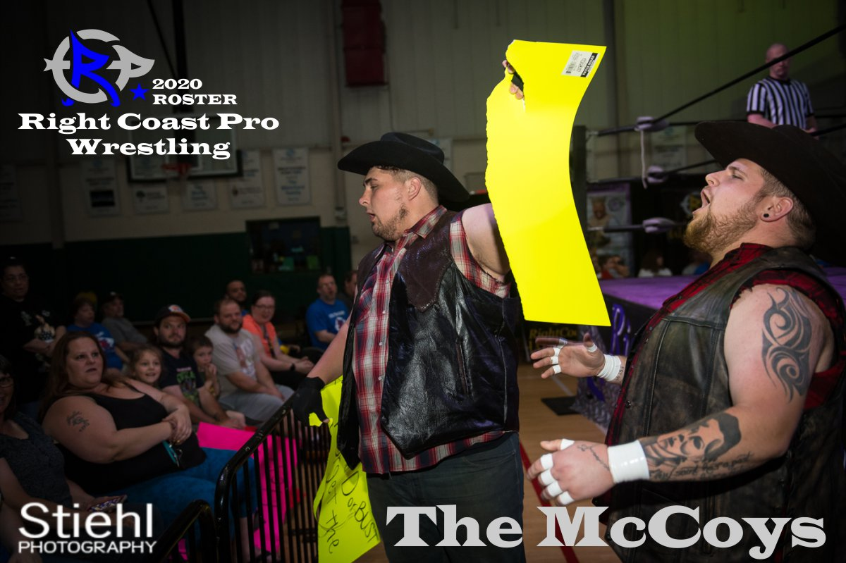 The McCoys 2019 Roster RightCoastPro Wrestling Delaware