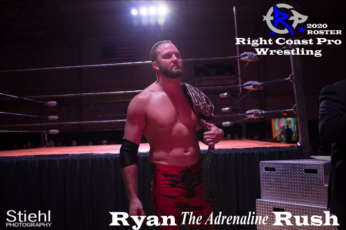 RyanRush 2019 Roster RightCoastPro Wrestling Delaware