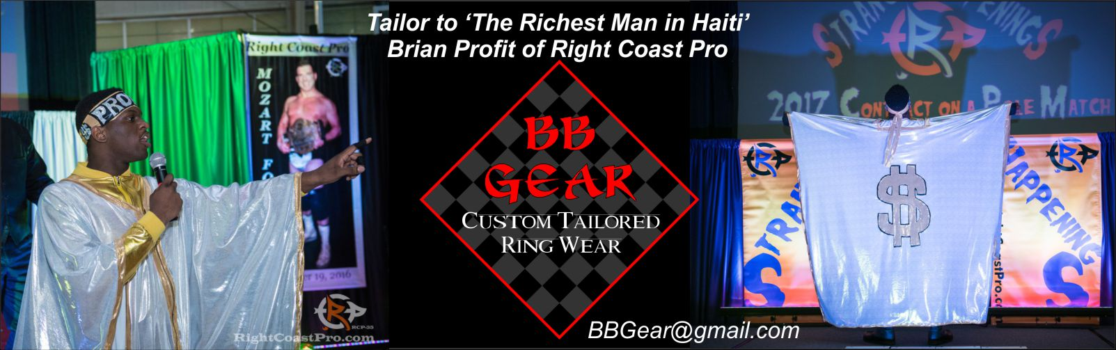 BBGear Profit ProWrestling Costumes RCP 1