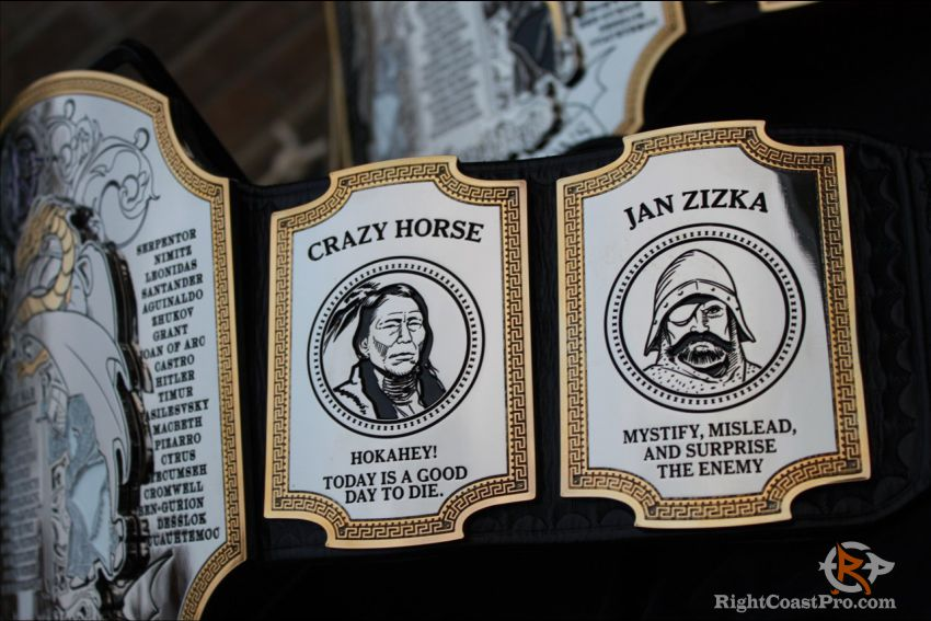 JanZizka CrazyHorse FieldMarshall Belt RightCoast Pro Wrestling Delaware