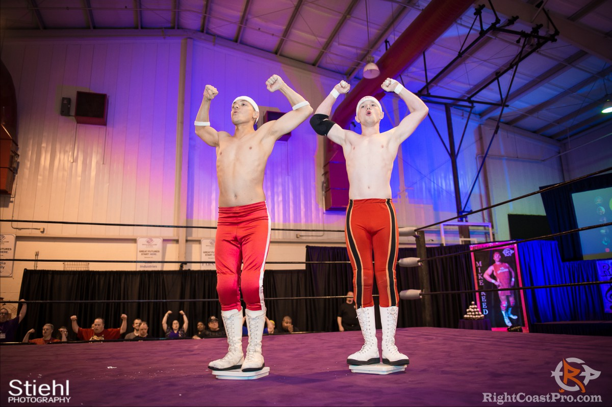 Heavyweights B TagTeam Champions RightCoast Pro Wrestling Delaware
