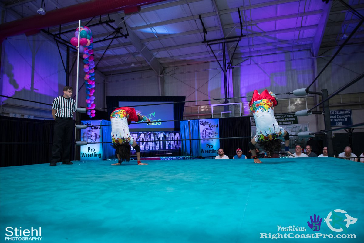 KrazyKids D Festivus Five RightCoast ProWrestling Delaware Event